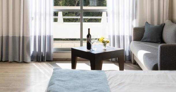 מלון כפר המכביה -  חדרי המלון