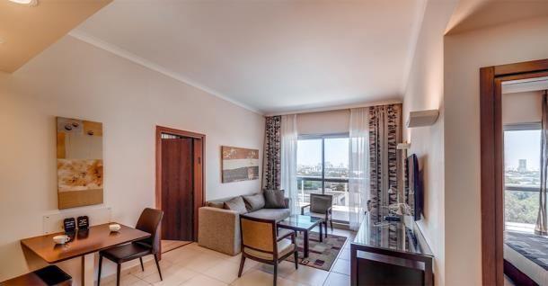 מלון כפר המכביה -  סוויטה 2 חדרי שינה